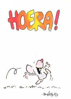 Hoera! (Het muisje van Leendert Jan Vis).