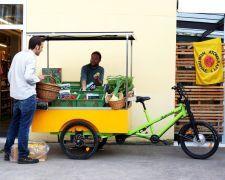 #Lastenrad #Marktstand