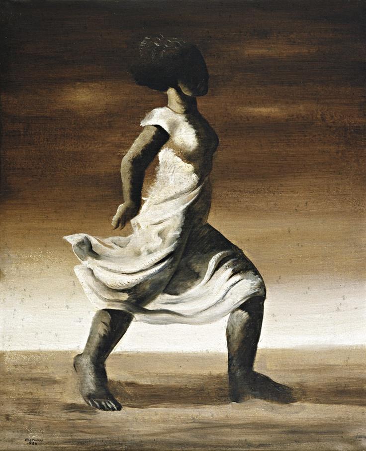 White Dress (1936) - Oil on Canvas - Candido Portinari.