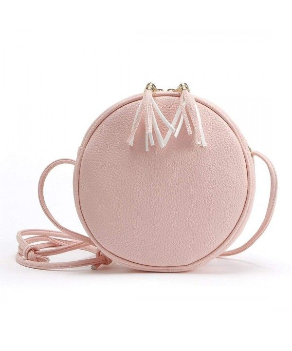 69f3741ce Women's Bags, Crossbody Bags, Small Circular Crossbody Purse for Teen  Girls- Mini Crossover Phone Shoulder Bag for Women - Pink - CI18C5TX5UU # Women ...