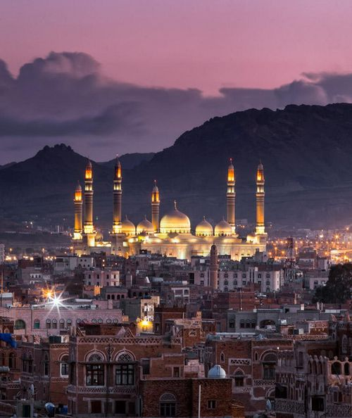#1 Sana'a is the capitol of Yemen. It is one of the largest cities in the world with 1,937,500 people inhabiting it.
