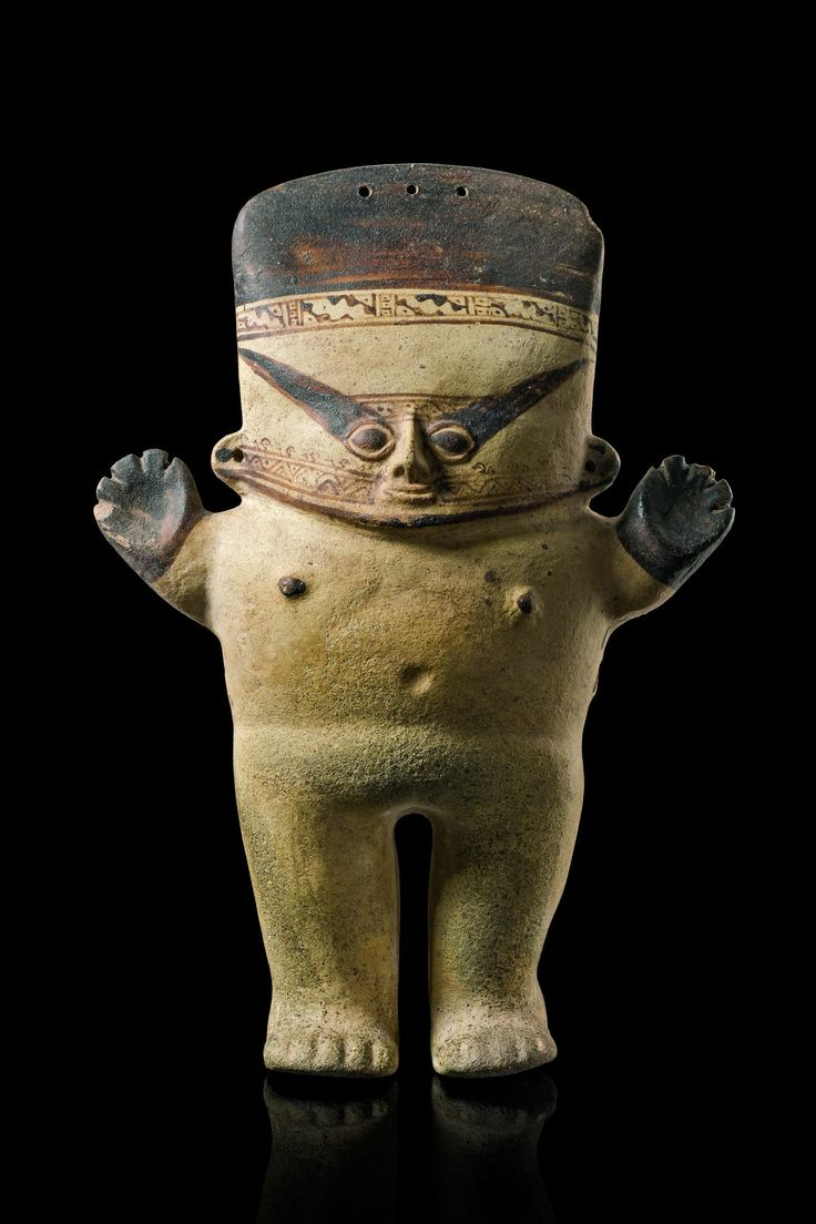 Hollow female figure, Peru, Chancay