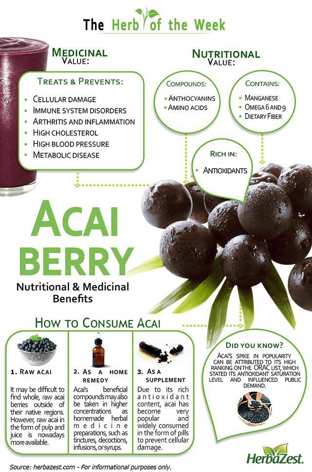 Benefits Of Acai Puree