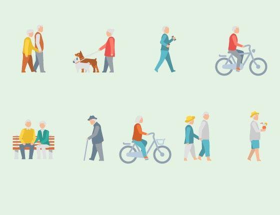 Estudo da Organização Mundial da Saúde mostra que o número de idosos brasileiros cresce acima da média mundial