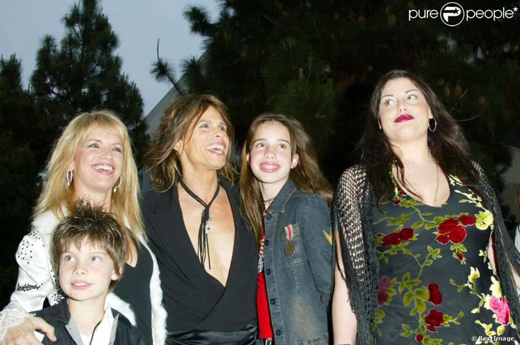 Awesome Steven Tyler and Family