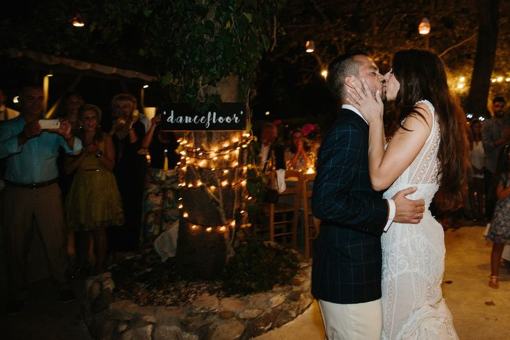 happy couple first kiss love| lafete