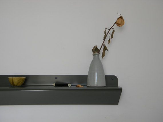 Modern Sheet Metal Shelf  Étagère en Acier Plié by MDTMobilier