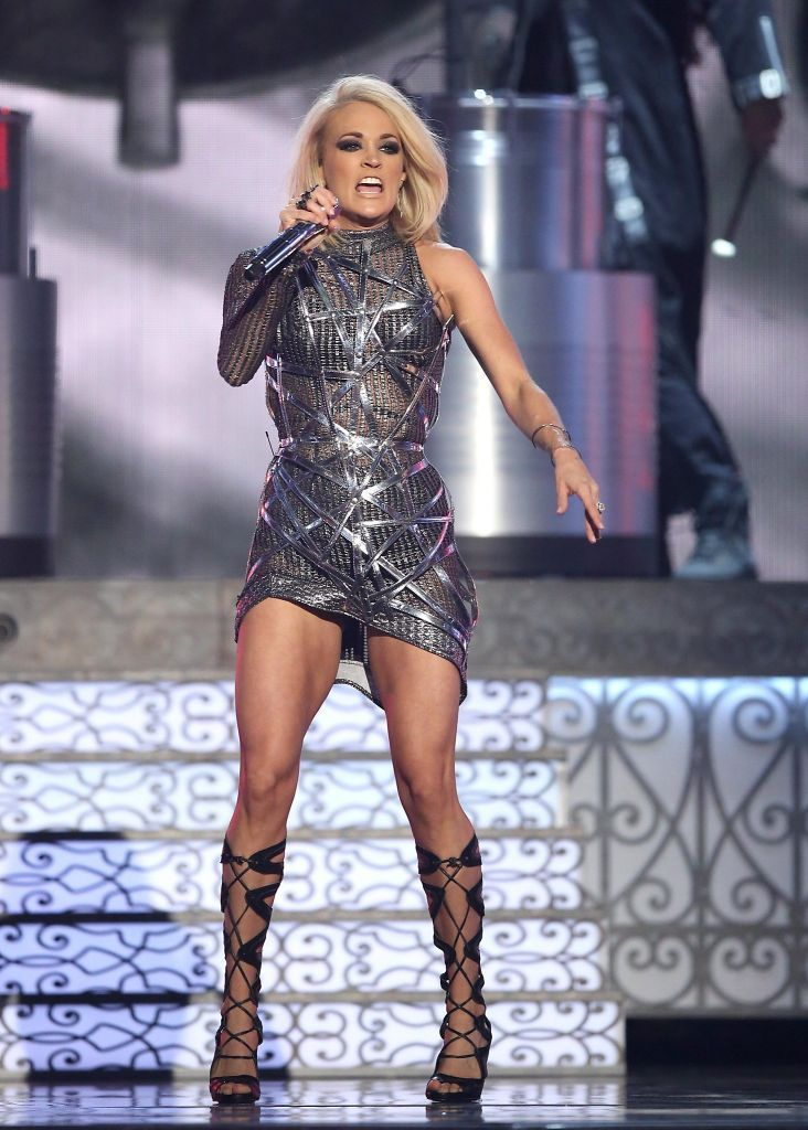 Carrie underwood acm upskirt are not