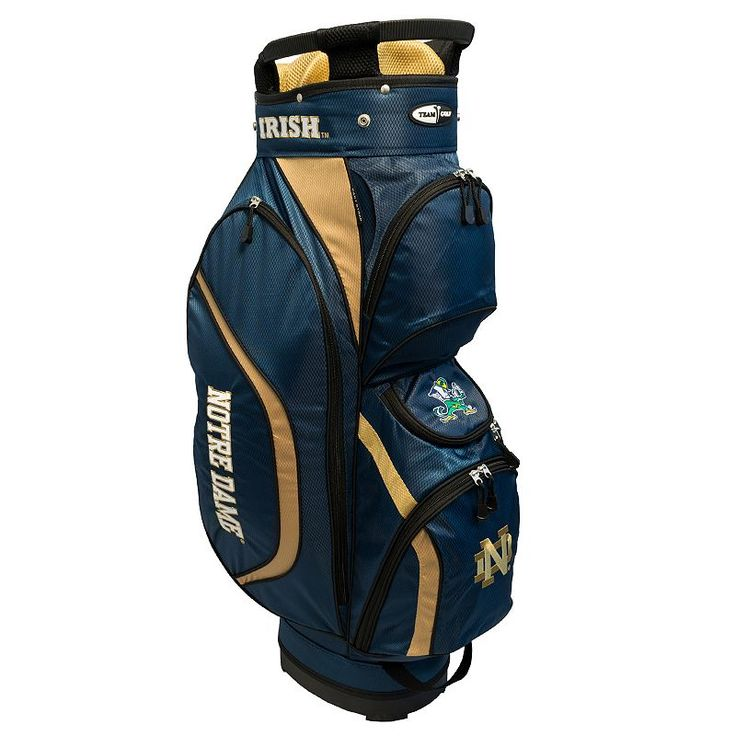 Team Golf Notre Dame Fighting Irish Clubhouse Golf Cart Bag, Multicolor