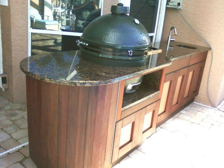 17 Best Images About Green Egg Outdoor Kitchen On Pinterest Hot Dogs Outdoor Smoker And The