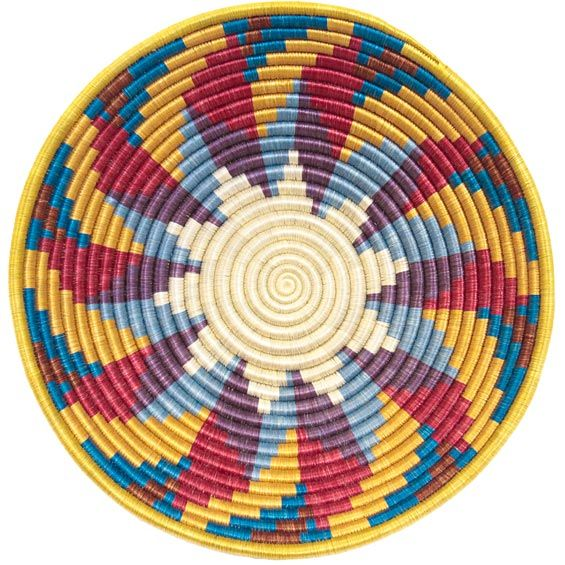 Coil Basket Weaving Patterns : Best images about bases mochilas wayuu on