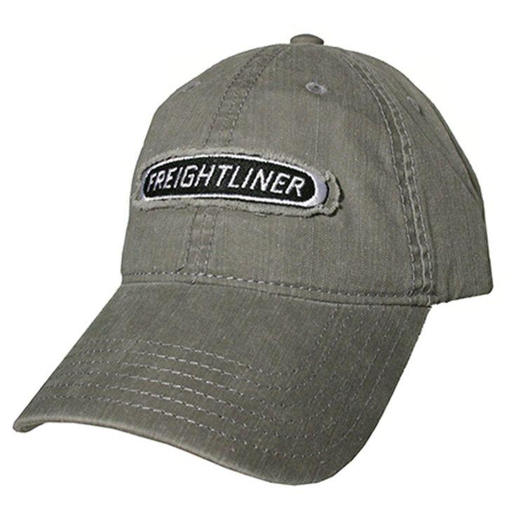 Freightliner Merchandise - Freightliner Lightweight Gray Snapback Caps…