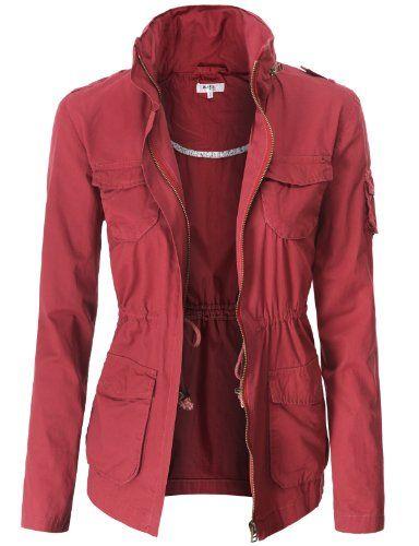 Doublju Lightweight Casual Safari Jackets WINE (US-L) Doublju,http://www.amazon.com/dp/B00DFTH8IU/ref=cm_sw_r_pi_dp_KBEbtb12PVD1P03M