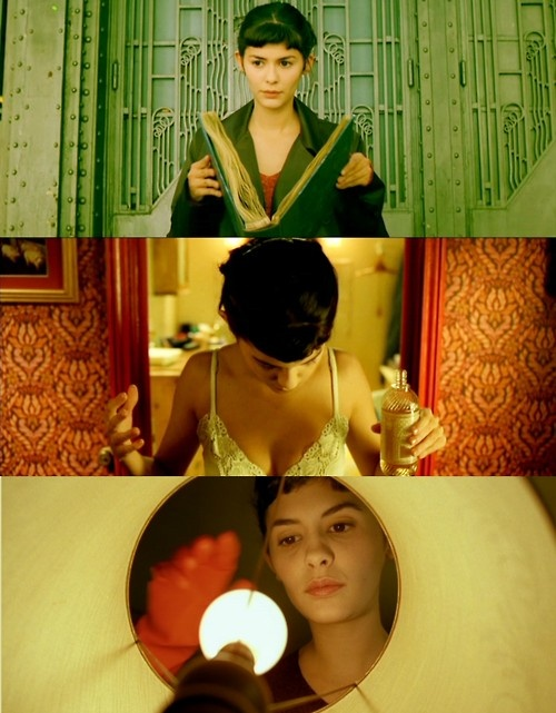 Despite how beautiful this movie is...I love the photography of it. So many lovely colores! #Amelie