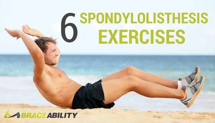 6 Spondylolisthesis Exercises