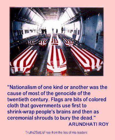 Nationalism | War is crime! | Pinterest