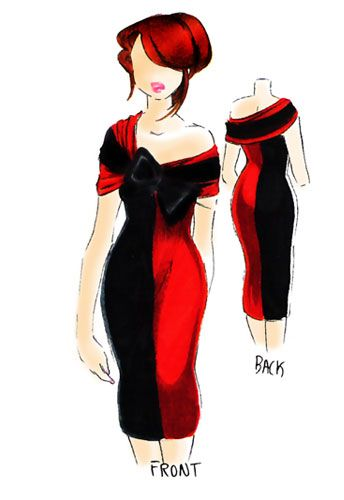 Gorgeous Harley Quinn dress idea.  Which one of the gorgeous ladies of my acquaintance wants to make and wear it.