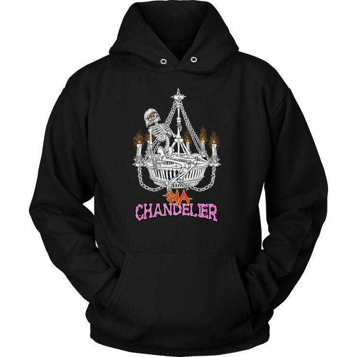 Sia - Chandelier (2) metal hoodie USD 17.59 We ship worldwide! --------------- metal head, black metal, pop music, fashion, clothing