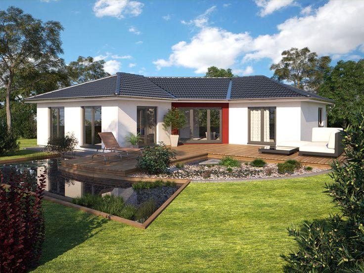 13 best hanlo haus bungalow serie images on pinterest for Piani casa bungalow cottage