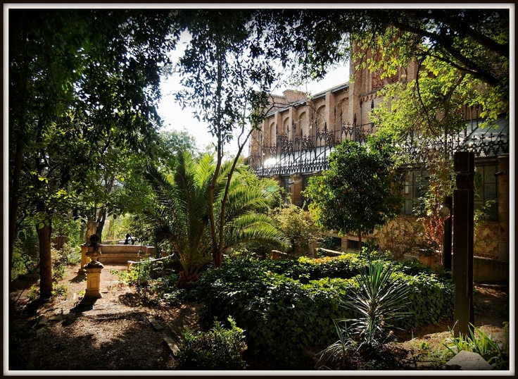 Jardín de la Escuela de Artes. Toledo