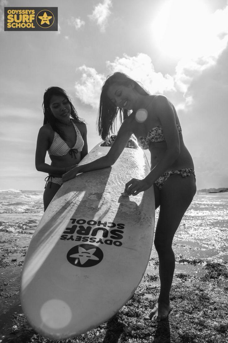 Friends & Surf  #bali #surfingisfun #odysseysurfschool #odysseysurfbali