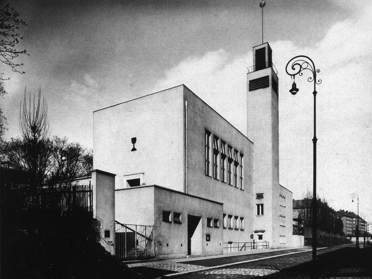 Hussite church, Jan Víšek, Brno, Czechoslovakia 1927
