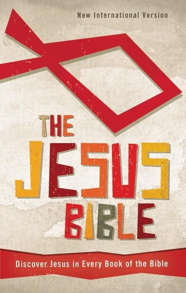 The Jesus Bible, NIV  highlights all the places Jesus is present and mentioned throughout Scripture, his promises and teachings, and how Jesus' teachings apply to everyday life.