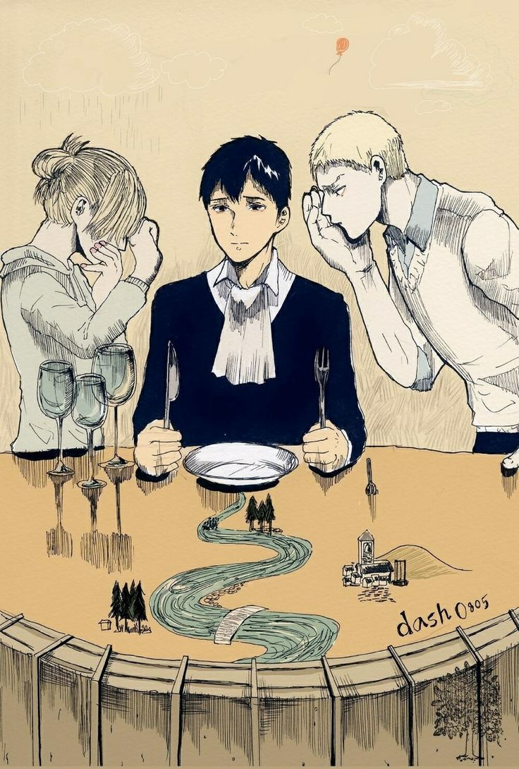 Attack on Titan - Bertholdt, Reiner, Annie | Attack on ...
