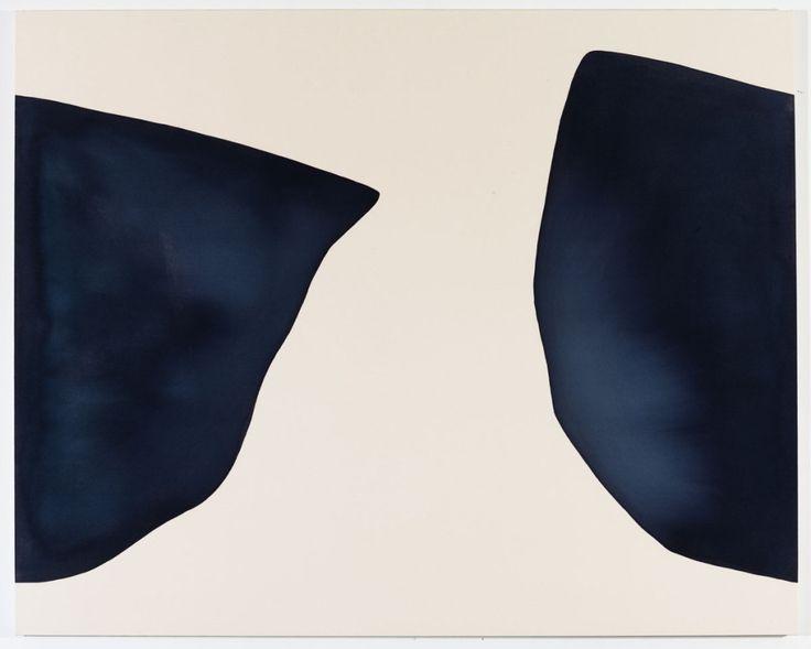 James Fuentes, New York  Landon Metz, Untitled, 2014, dye on canvas, 64 x 80 inches.