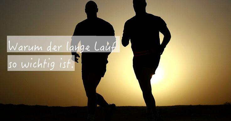 Der #LongJog, respektive lange #Dauerlauf ist absolut unverzichtbar in der Vorbereitung auf einen #Marathon oder #Halbmarathon!