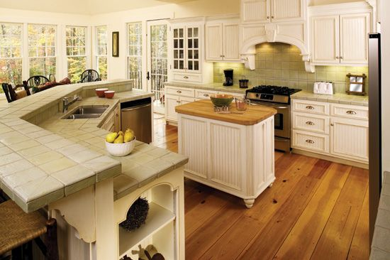 Kitchen from Plan 866-D - The Adelaide