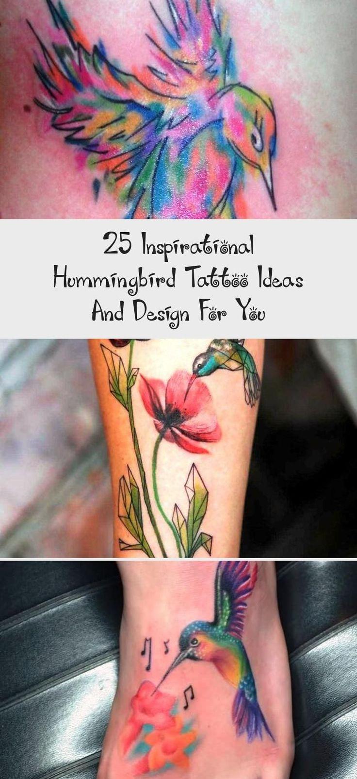 25 Inspirational Hummingbird Tattoo Ideas And Design For