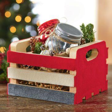 caisse-cadeau en bois michaels