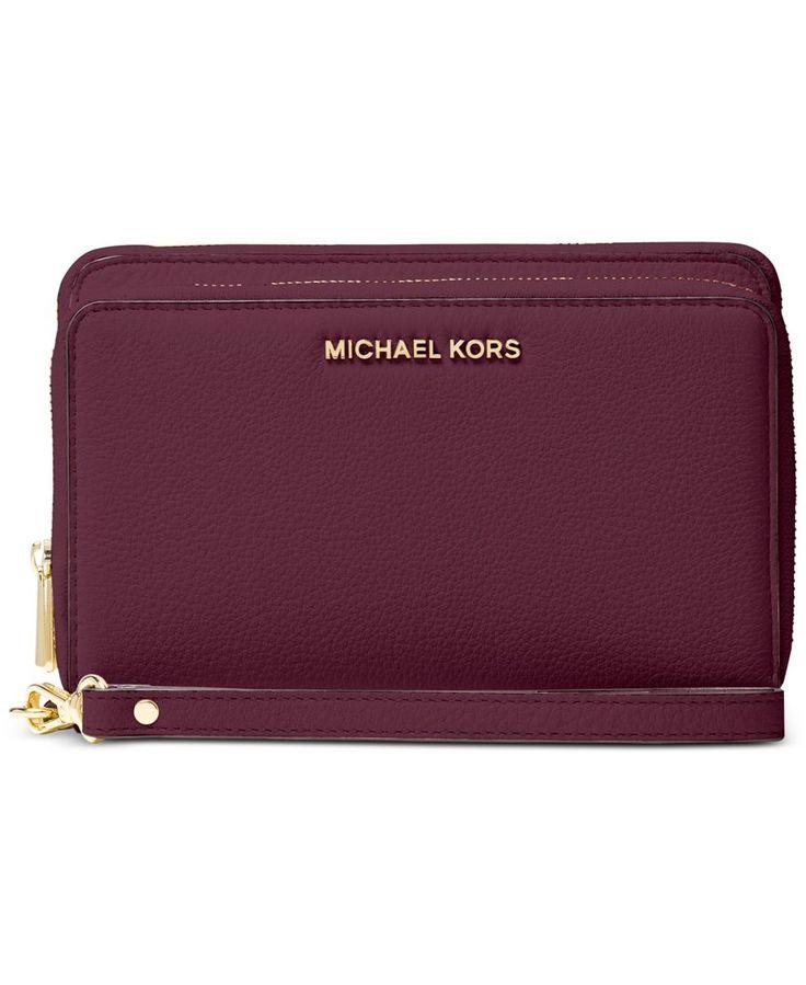 Michael Michael Kors Adele Double-Zip Wallet