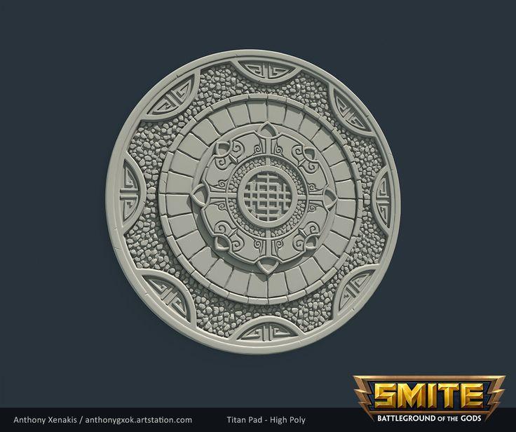 ArtStation - SMITE Chinese Joust Environment assets, Anthony Xenakis
