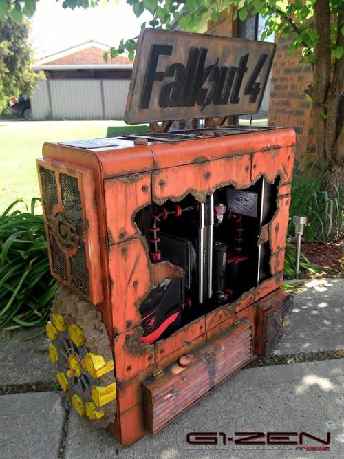 The hype is real. Only 27 days left  fallout fallout 4 fallout pc fallout pc case fallout pc mod twitter