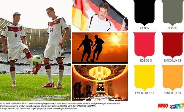 Tangguhnya Warna Timnas Jerman #Future #Color http://matarampaint.com/detailNews.php?n=122