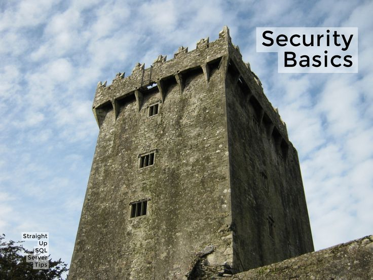 SQL Server Security Basics - SQL Server Consulting - Straight Path Solutions