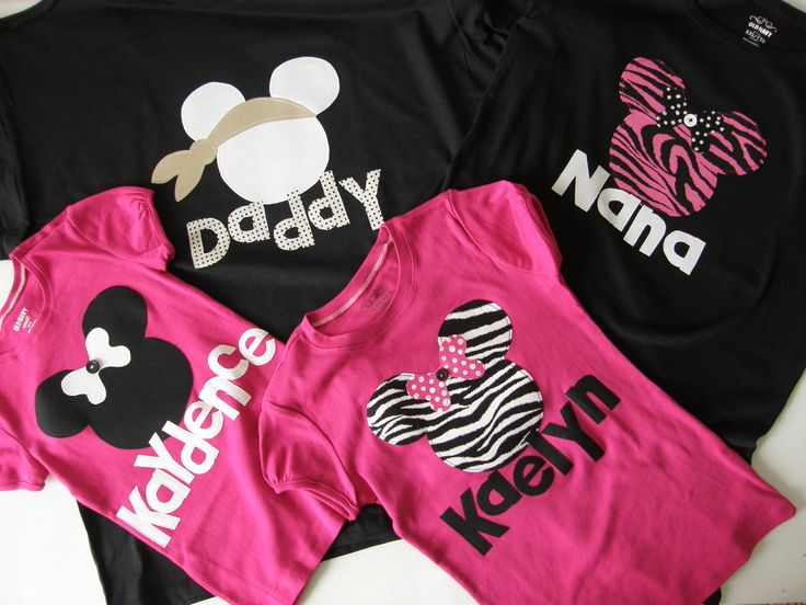 Disney clothes the family   tshirt with Minnie by sweetpeppergrass, $29.00