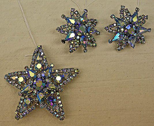 Jewelry set                                          Vendôme & Coro             (American)                                                                                                           Date:                                      late 1950s                                                       Culture:                                      American                                                       Medium:                                      glass, metal
