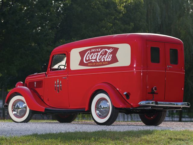 1937 Ford Panel Truck with Coca-Cola Scheme to be Auctioned by RM | RodAuthority