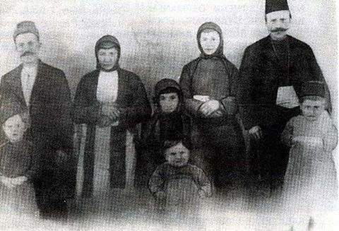Family photo, Halva Maden, Bayburt. c1904.