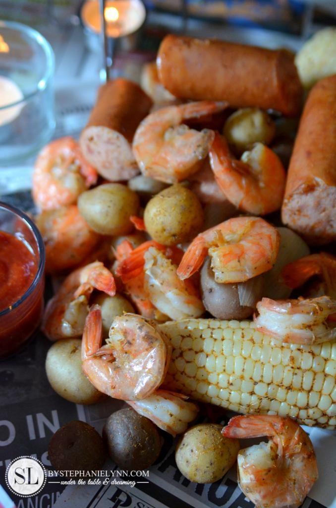Shrimp Boil with Sam's Club #trysamsclub