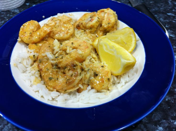 Quick and Easy Louisiana Creole Prawns 500 gms Large Green Prawns 1 tablespoon YIAH Louisianna Creole DipMix Juice of 1 lemon 300ml Cream Peel Prawns and heat pan with a little olive oil (I use YIAH Mediterranean). Add Louisianna creole and lightly sear prawns - remove. Add cream to pan, simmer and reduce to a sauce( about 10 minutes). Add lemon juice to prawns and add to sauce and simmer another 3 minutes. Serve over rice.