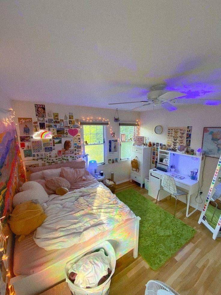 To The Precious You Jaehyun X Yeri Room Design Bedroom Indie Room Neon Room Bedroom bathroom knockout cute bedroom