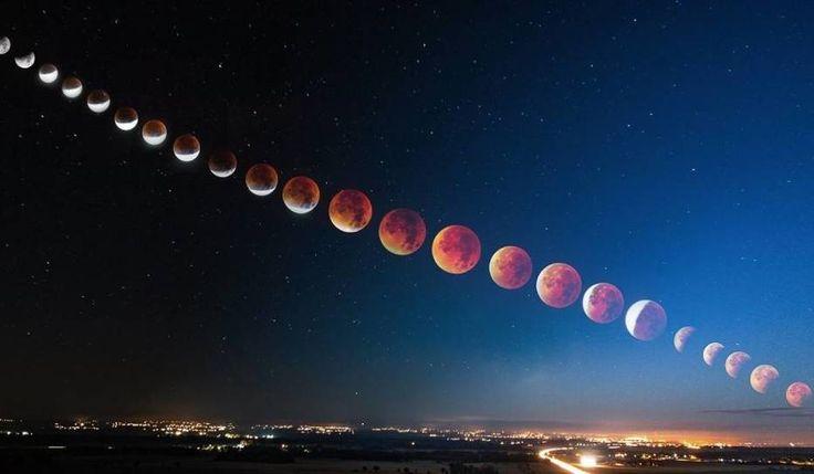 Zaćmienie Księżyca autorstwa Pawła Uchorczaka z Opola