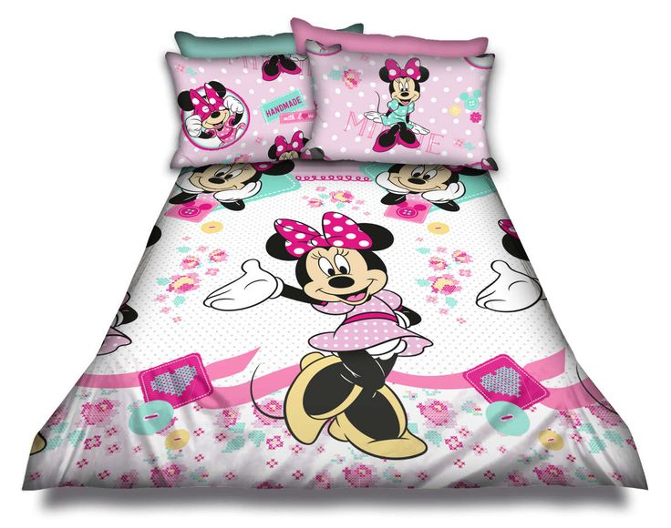 SINGLE Minnie Mouse duvet set @ R375  For more info & orders, email SweetArtBfn@gmail.com or call 0712127786 (SA Shipping available @ R45)