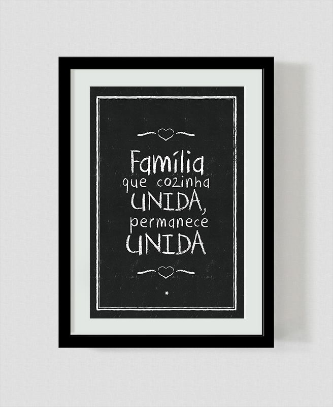 Família Unida na Cozinha - Asterisco