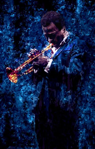 Miles Davis Gallery Jazz Painting Art Poster.27131136 large