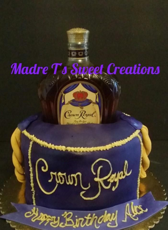 1000 Ideas About Crown Royal Cake On Pinterest Royal
